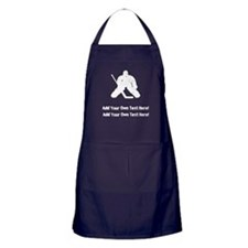 Personalize It, Hockey Goalie Apron (dark)