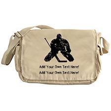 Personalize It, Hockey Goalie Messenger Bag