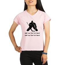 Personalize It, Hockey Goalie Peformance Dry T-Shi