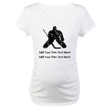 Personalize It, Hockey Goalie Shirt