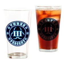 3% Bio BluGlo Dark Drinking Glass