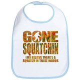 Gone Squatchin *Fall Foliage Forest Edition* Bib