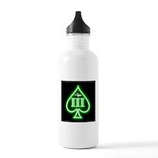Three Percent - Spade and Rifle - Green Glow Water