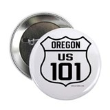 "US Route 101 - Oregon 2.25"" Button (10 Pk)"