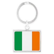 Flag of Ireland Landscape Keychain
