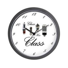 Wall Clock - Glass Has Class