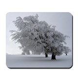 Black Forest White Mousepad