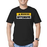 Warning Offensive Lockou T-Shirt