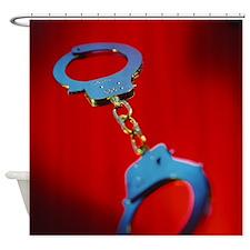 Handcuffs - Shower Curtain