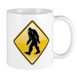 Bigfoot Road Sign Small Mug