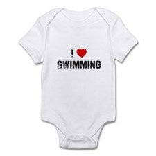 I * Swimming Infant Bodysuit