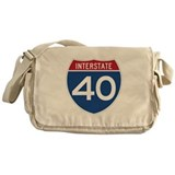 Cute Travel Messenger Bag