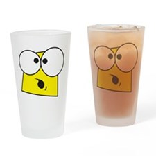 Shocked Face Drinking Glass