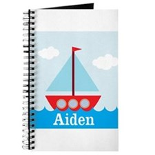 Personalizable Sailboat in the Sea Journal