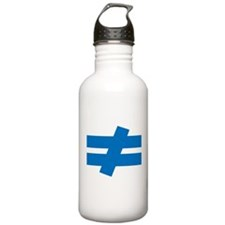 Not Equal Water Bottle