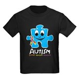 Autism Cartoon Puzzle Piece T-Shirt