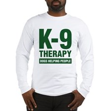 TherapyK9.jpg Long Sleeve T-Shirt
