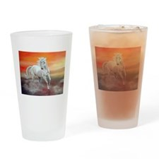 Wild and free Drinking Glass