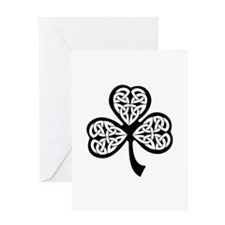 Celtic Shamrock Greeting Card