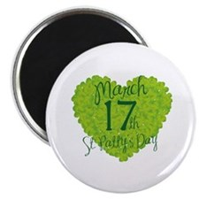 "St. Patty's Day March 17th 2.25"" Magnet (10 pack)"