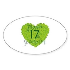 St. Patty's Day March 17th Decal