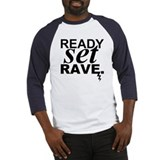 ready set rave Baseball Jersey