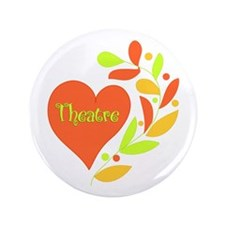 "Theatre Heart 3.5"" Button (100 pack)"