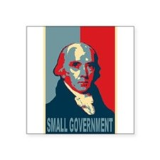 "James Madison ""Small Government"" Sticker"