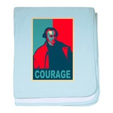 """Patrick Henry """"Courage"""" baby blanket"""