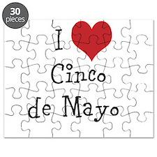 I Love Cinco de Mayo Puzzle