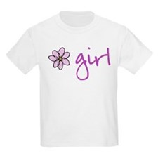 Flower Girl - Purple T-Shirt