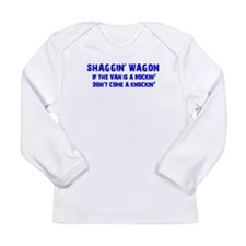 Shaggin Wagon Van Rockin Current Long Sleeve T-Shi