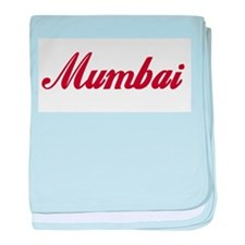 Mumbai name baby blanket