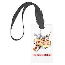 The White Rabbit Luggage Tag