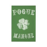 Pogue Mahone -vint Rectangle Magnet (10 pack)