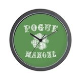 Pogue Mahone -vint Wall Clock