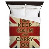 Keep calm Queen Duvet Covers