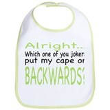 Funny cape Cotton Bibs