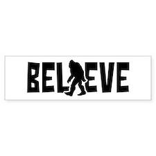 Believe in the Sasquatch Bumper Stickers
