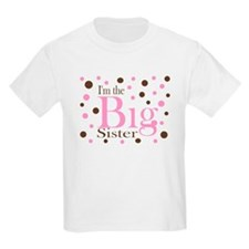 Im the Big Sister Dots T-Shirt