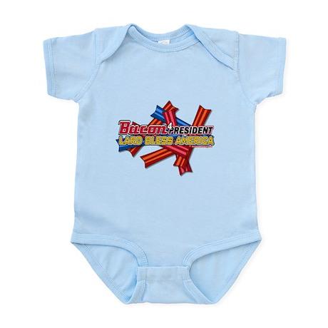 Bacon LB America Too! Infant Bodysuit