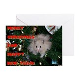 HamStar Christmas Greeting Cards (Pk of 10)