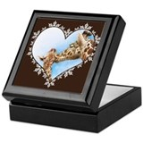 Cool  cute giraffes Keepsake Box