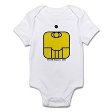 YELLOW Magnetic SEED Infant Bodysuit