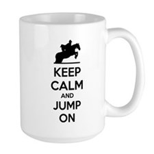Keep calm and show jump Mug
