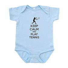 Keep calm and play tennis Infant Bodysuit
