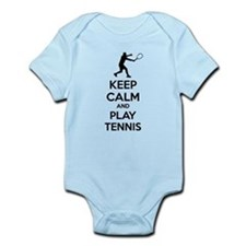 Keep calm and play tennis Onesie
