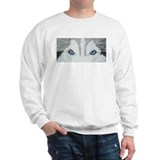 nicoeyespaint.png Sweatshirt
