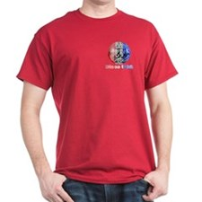 Disco USA Cardinal Red or Black T-Shirt