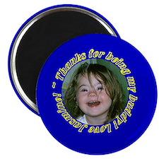 "jasmine 2.25"" Magnet (10 pack)"